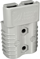 50amp ANDERSON PLUG GRAY 2 POL - Click for more info